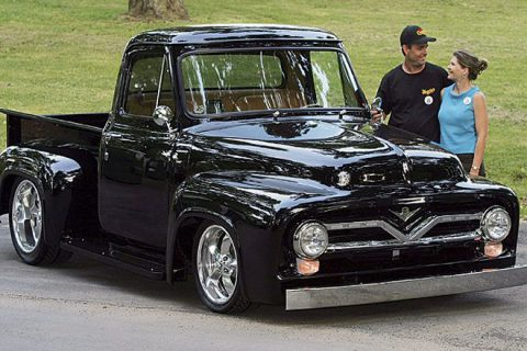 Terry Altman's '55 Ford F150<br> by Terry Altman